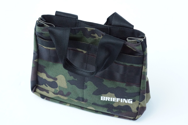 B SERIES CART TOTE GREEN CAMO 1