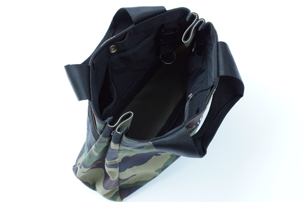 B SERIES CART TOTE GREEN CAMO 2
