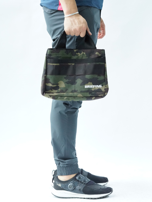 B SERIES CART TOTE GREEN CAMO image 2