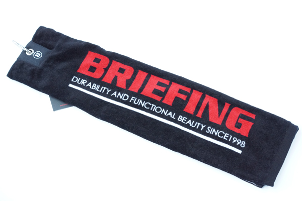BRIEFING TOWEL BLACK 1