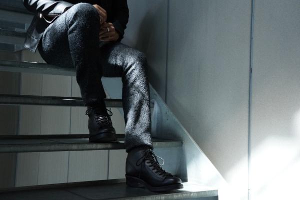 18AW 別注TWEED 17cm PANTS ikmage shot 2
