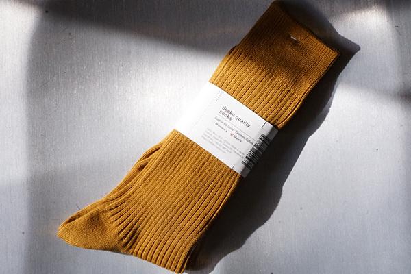 decka Cashemere cotton socks Gold 600 400 1